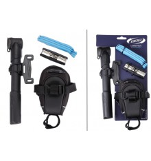 BBB Kit sacoche de selle + pompe + outils SaddleBag Combi