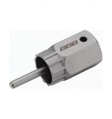 """BBB Clé 1/2"""" avec guide pour cassettes Shimano HG LockPlug"""