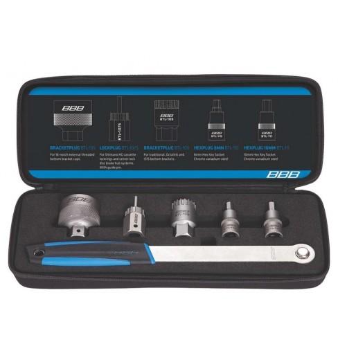 BBB Kit pour boitiers et cassettes DriveSet