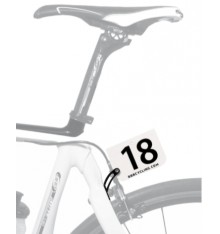 BBB Fixation pour plaque de cadre sur étrier de frein FrameFix