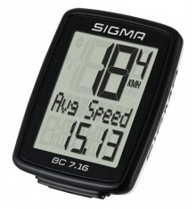 SIGMA BC 7.16 bike computer - wired