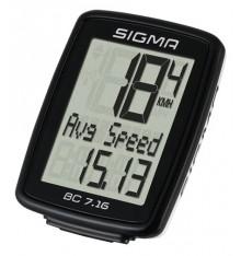 SIGMA compteur vélo filaire BC 7.16