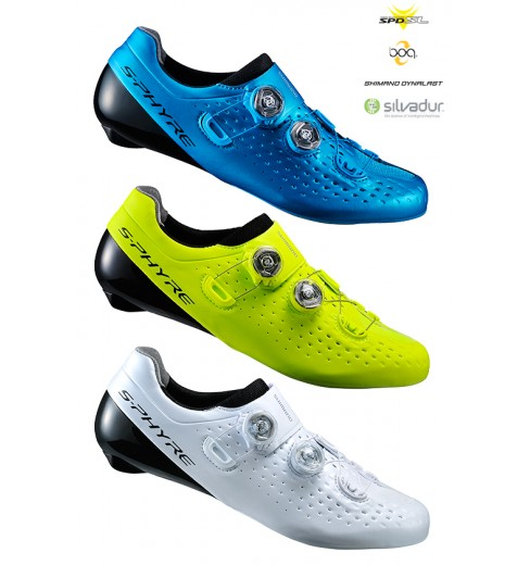 Chaussures vélo route SHIMANO S-Phyre RC9 Large 2017