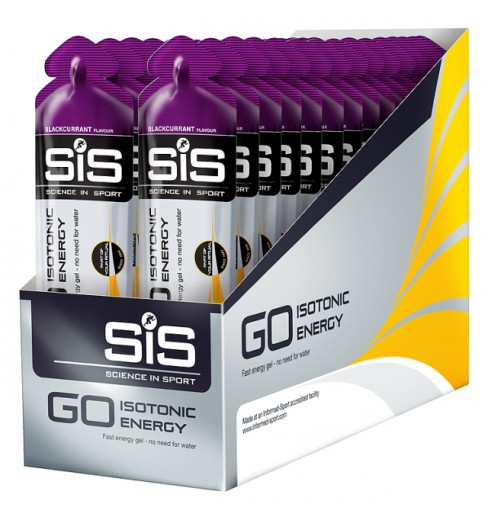 SIS Go ISOTONIC gels (box of 30x60g)