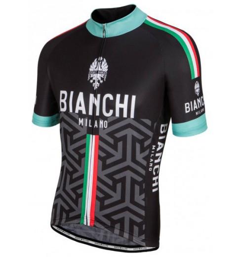 6200c8215 BIANCHI-MILANO Pontesei men s short sleeve jersey 2017 CYCLES ET SPORTS