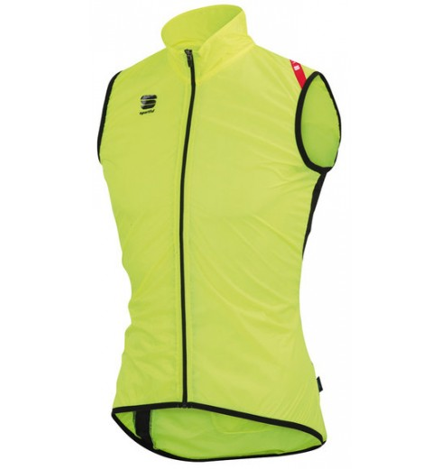 SPORTFUL gilet coupe-vent HOT PACK 5 jaune fluo