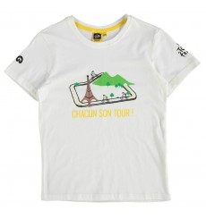 TOUR DE FRANCE t-shirt enfant blanc 2017