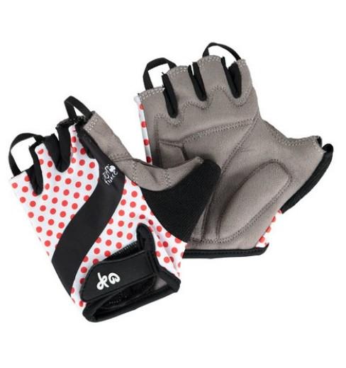 TOUR DE FRANCE Polka dots cycling gloves