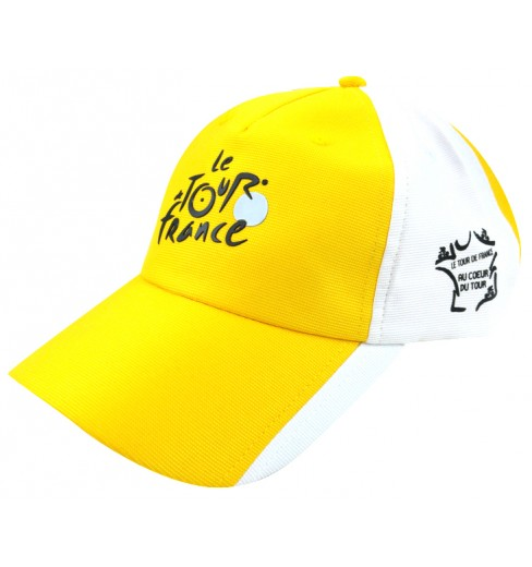 TOUR DE FRANCE Casquette Fan Le Tour de France jaune
