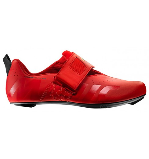 MAVIC Chaussures triathlon homme Cosmic Elite Tri Rouge 2019