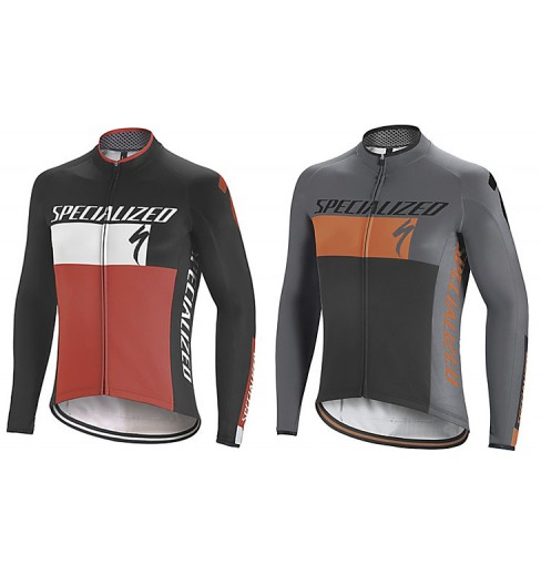 SPECIALIZED maillot manches longues Therminal RBX Comp Logo 2018