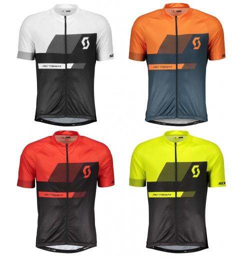 SCOTT maillot cycliste manches courtes RC TEAM 10 2018