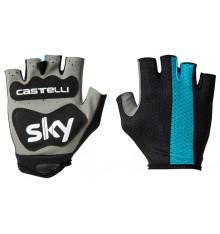 SKY gants cyclistes Track Mitts 2018