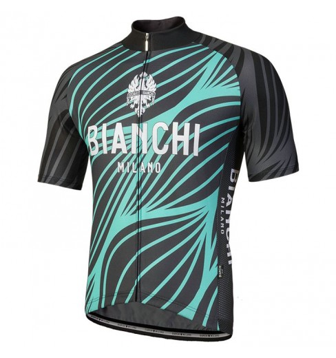 edd1dab5c BIANCHI MILANO Caina men s short sleeve jersey 2018 CYCLES ET SPORTS