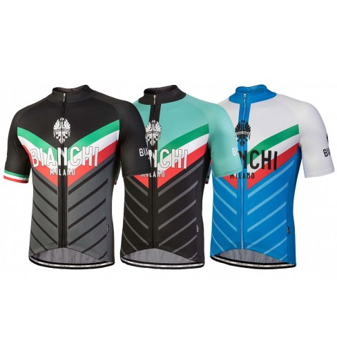 f2dc3703a BIANCHI MILANO Tiera men s short sleeve jersey 2018 CYCLES ET SPORTS
