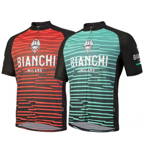 277cbf345 BIANCHI MILANO Tarugo men s short sleeve jersey 2018 CYCLES ET SPORTS