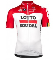 LOTTO SOUDAL SPL Aero short sleeve long zip jersey 2018