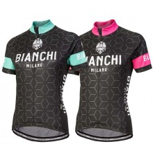 BIANCHI MILANO Nevola Women's short sleeve jersey 2017