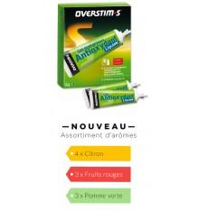 OVERSTIMS Gel antioxydant liquide, boite de 10 tubes de 30 g