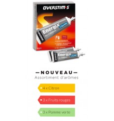 OVERSTIMS Gel Energix liquide, boite de 10 tubes de 35 g
