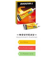 OVERSTIMS Gel coup de fouet liquide, boite de 10 tubes de 35 g