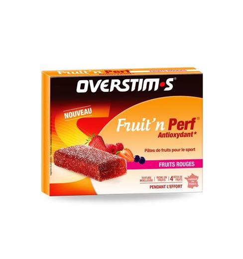 OVERSTIMS pâtes de fruits Fruit'n Perf antioxydant
