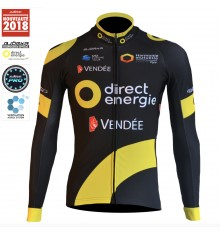 DIRECT ENERGIE long sleeves jersey 2018