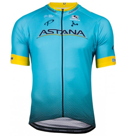 ASTANA maillot manches courtes Vero Pro 2018