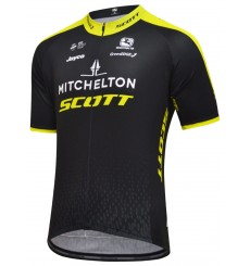 MITCHELTON-SCOTT Vero Pro short sleeve jersey 2018