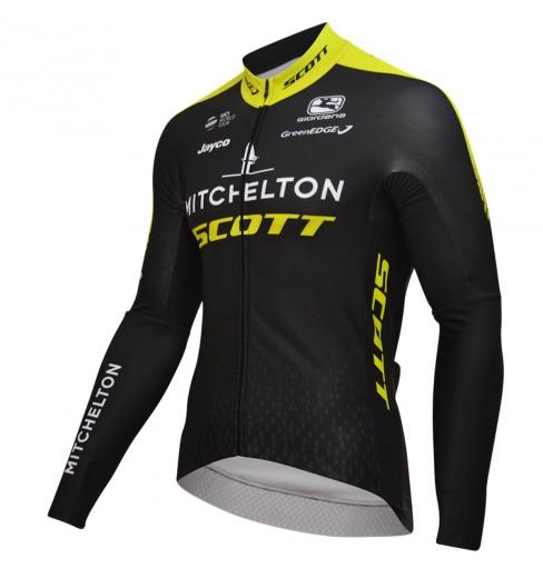 MITCHELTON-SCOTT maillot manches longues Vero Pro 2018