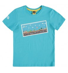 Tour de France Graphic Turquoise kids' T-Shirt 2018