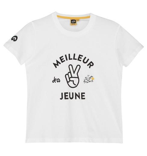 Tour de France Graphic White Leader kids' T-Shirt 2018
