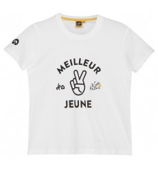 Tour de France Graphic White Leader kids' T-Shirt 2018