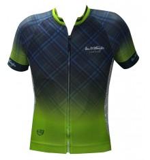 ALPE D'HUEZ checkered short sleeves jersey 2018