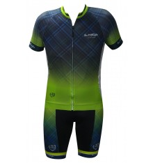 ALPE D'HUEZ checkered cycling set 2018