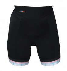 ALPE D'HUEZ checkered lady cycling shorts 2018