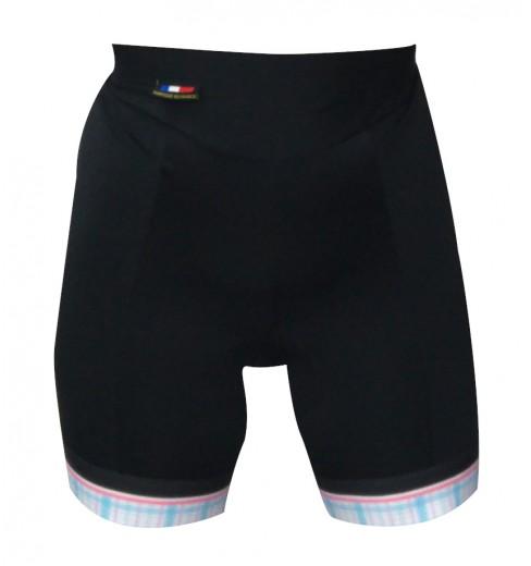 ALPE D'HUEZ checkered lady cycling shorts 2018