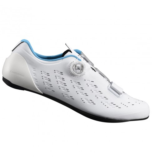 f3bc6395f63 SHIMANO RP9 white men's road cycling shoes CYCLES ET SPORTS