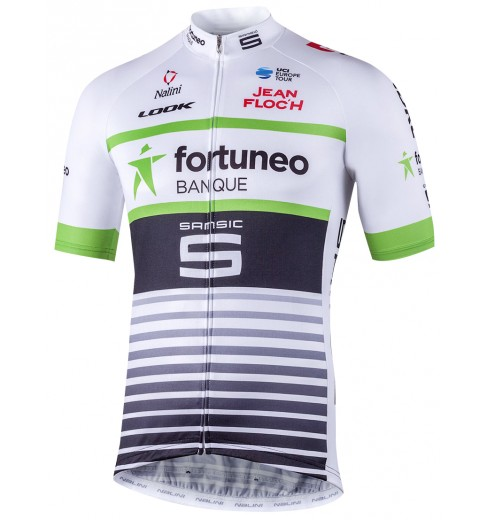 FORTUNEO SAMSIC junior short sleeve jersey 2018 CYCLES ET SPORTS 532434a1d