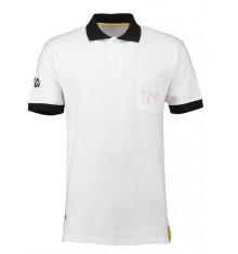 Tour de France Lifestyle White Polo 2018