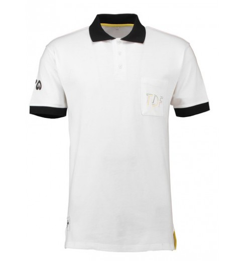TOUR DE FRANCE Polo Lifestyle Blanc 2018
