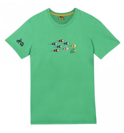 Tour de France Green Logo kids' T-Shirt 2018