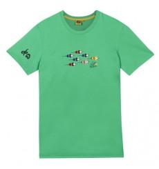 TOUR DE FRANCE t-shirt enfant Logo Vert 2018