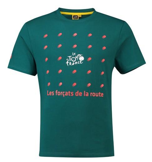 TOUR DE FRANCE T-Shirt Graphic Vert Foncé 2018