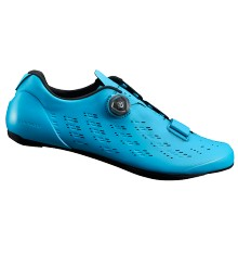SHIMANO RP9 blue men's road cycling shoes