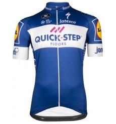 QUICK STEP FLOORS Team short sleeve jersey 2018