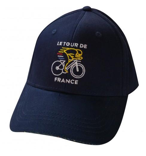 TOUR DE FRANCE Navy Lifestyle cycling cap 2018