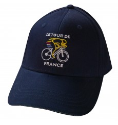 TOUR DE FRANCE Navy Lifestyle cycling cap 2018