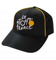 Tour de France Official Fan Black Cap 2018