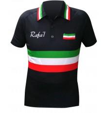 RAFA'L maillot manches courtes Vintage Italie 2018